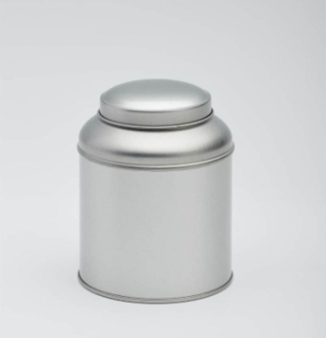 Round tin tin can packaging