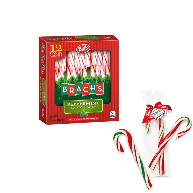 candy canes packaging box