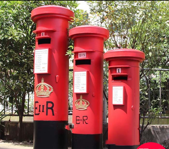 Extra large metal mailbox UK