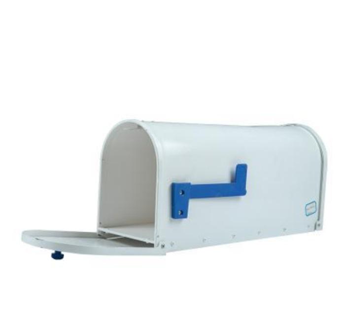 Printed metal post box