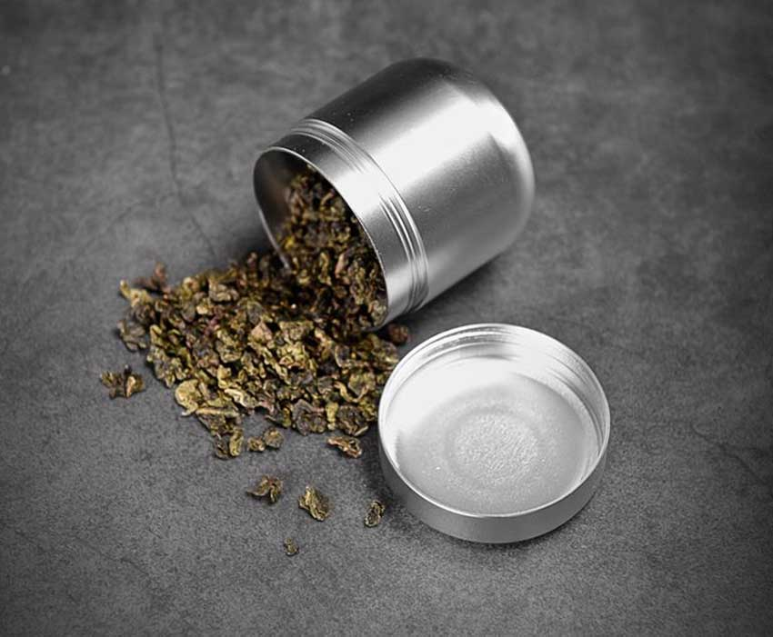 Tea metal box