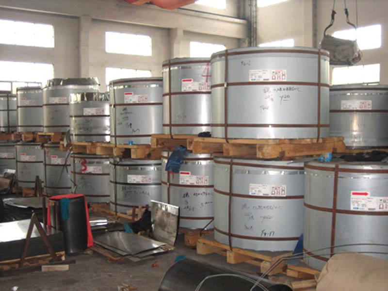 Tinplate factory