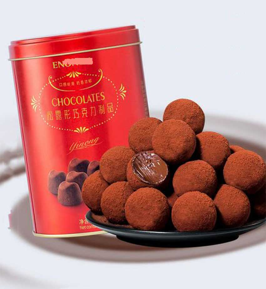 Promotional Lindt Chocolate Tin Can
