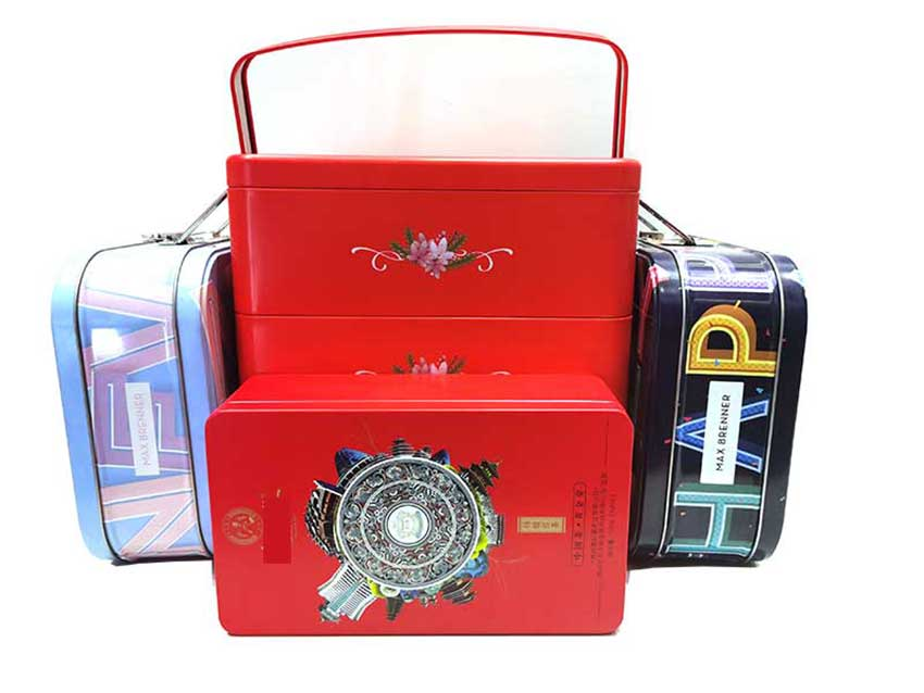 Promotional gift tin box packaging