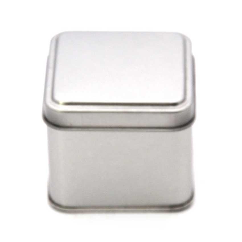 Square metal box