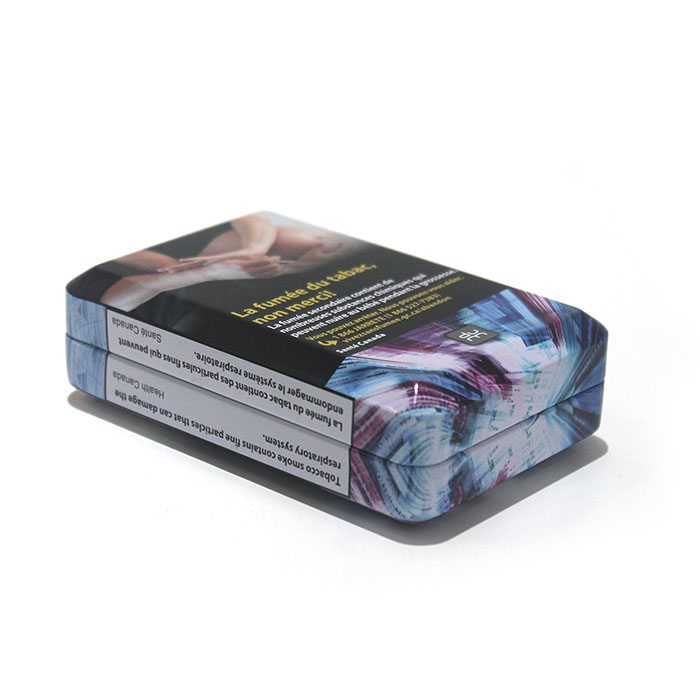 Tobacco tin box