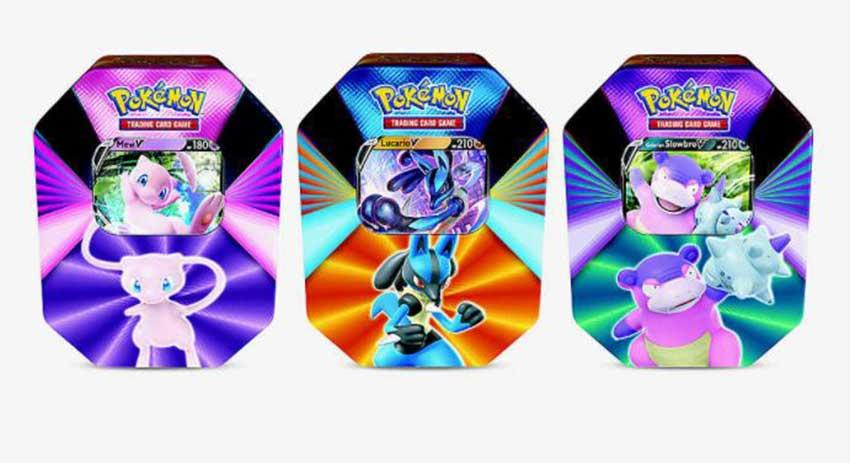 Pokemon Tin Box 2021 Series