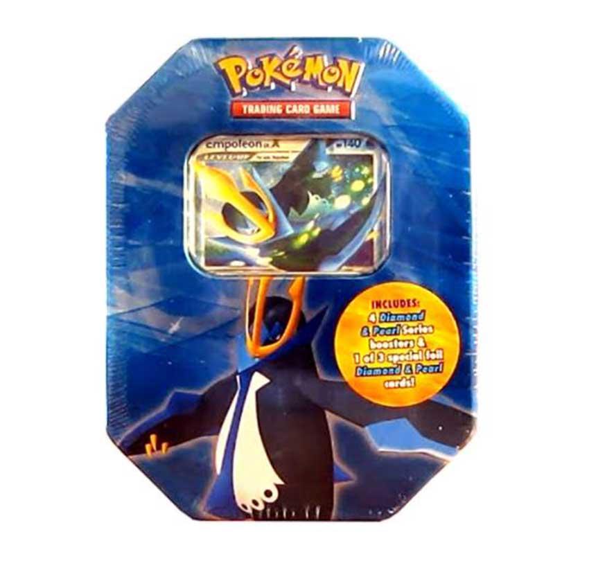 Pokemon tin box
