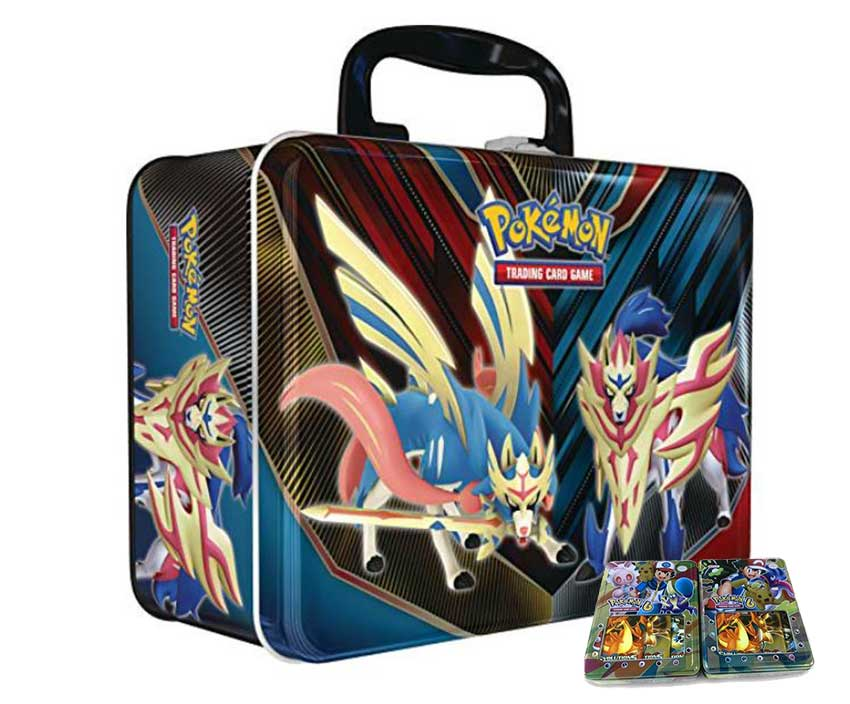 Rectangular Pokemon Tin Box 2021