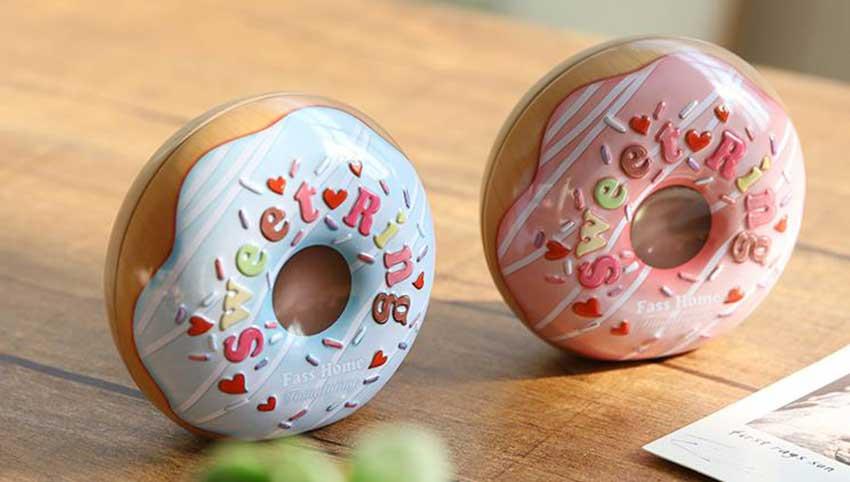 Round tin box packaging