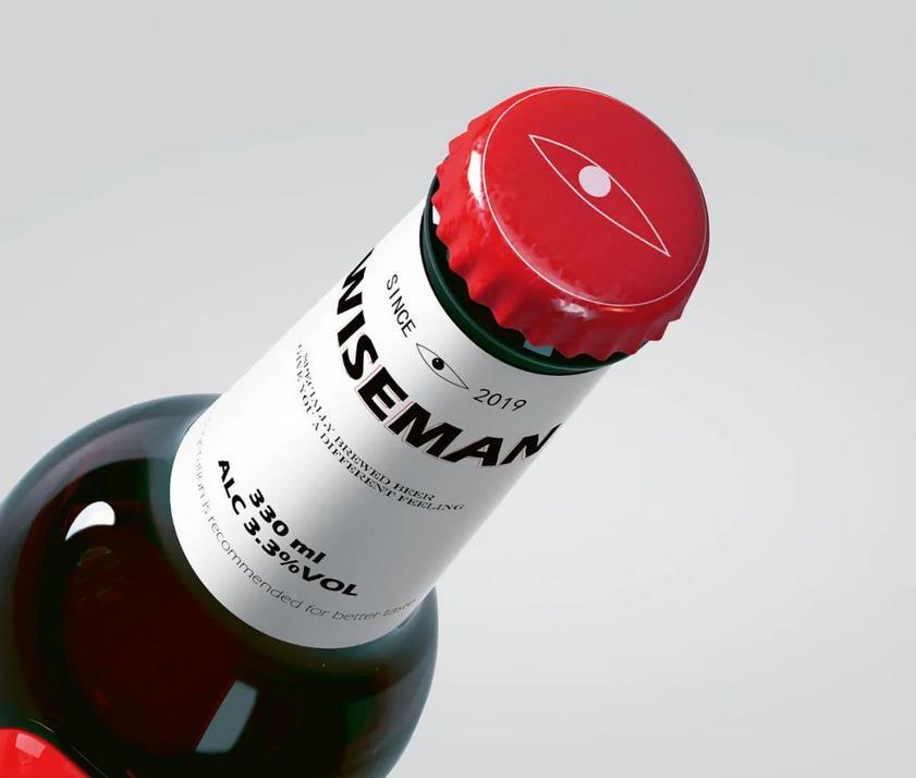 Creative beer logo design