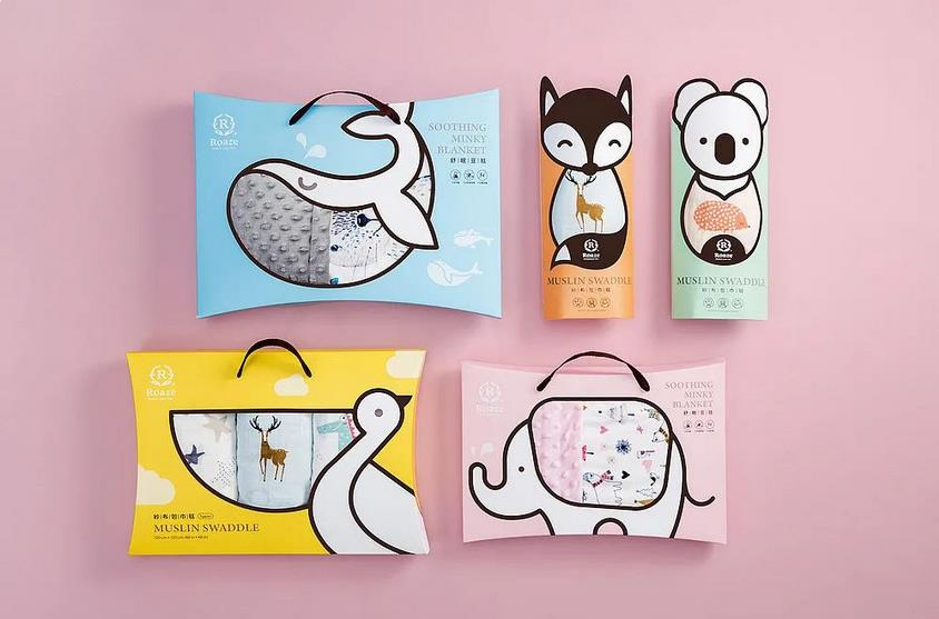 Children's candy packaging box