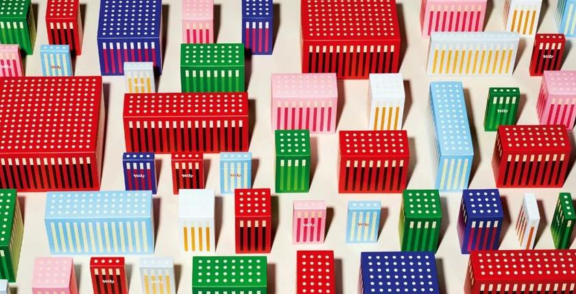 Creative candy packaging design
