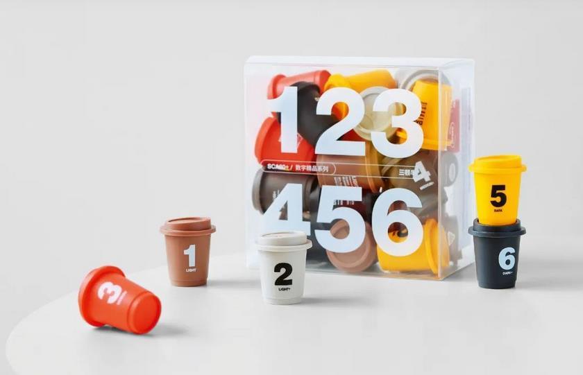 Creative coffee packaging series