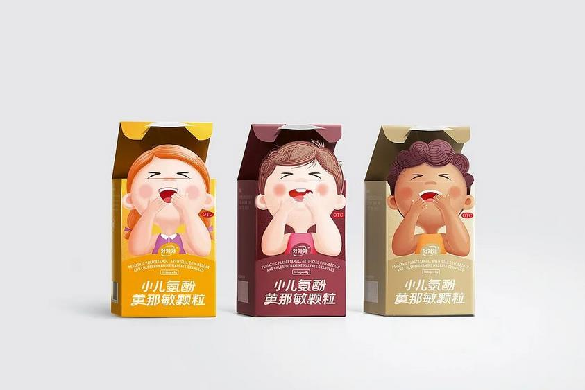 Children's biscuit packaging