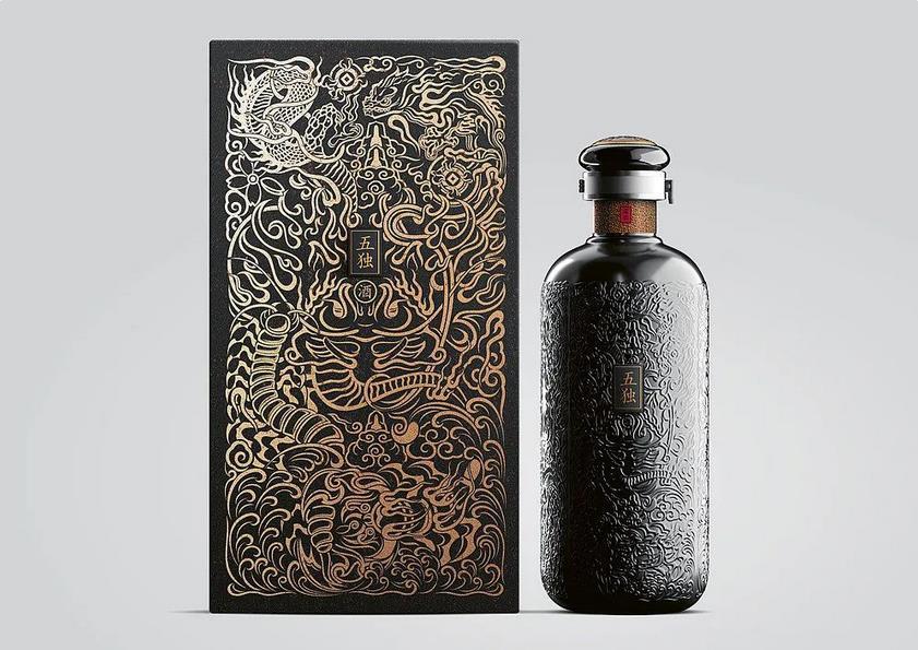 Creative Liquor Packaging Box
