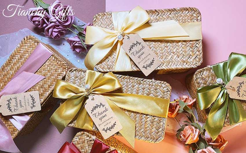 Bamboo promotional gift box
