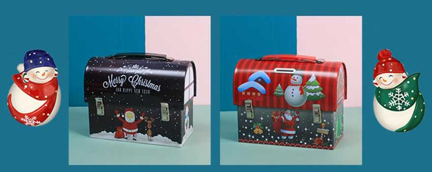 Christmas Promotional Gift Candy Box