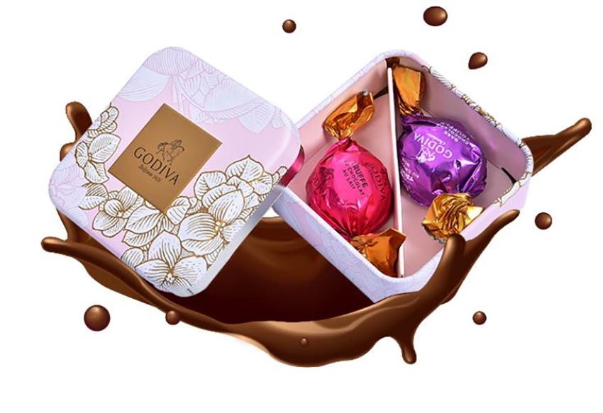 Food packaging candy box