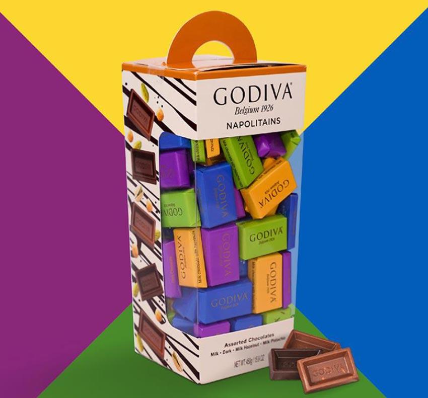 Food packaging chocolate box