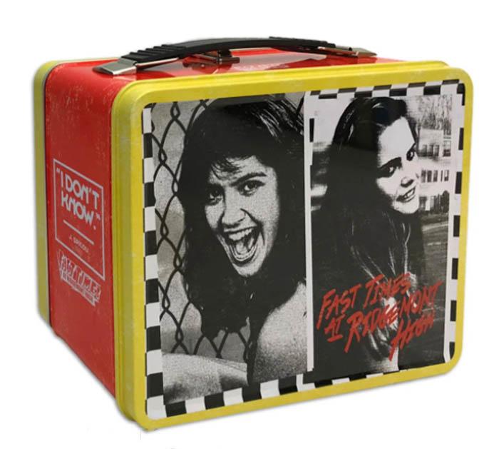 Janis Joplin embossed metal lunch box