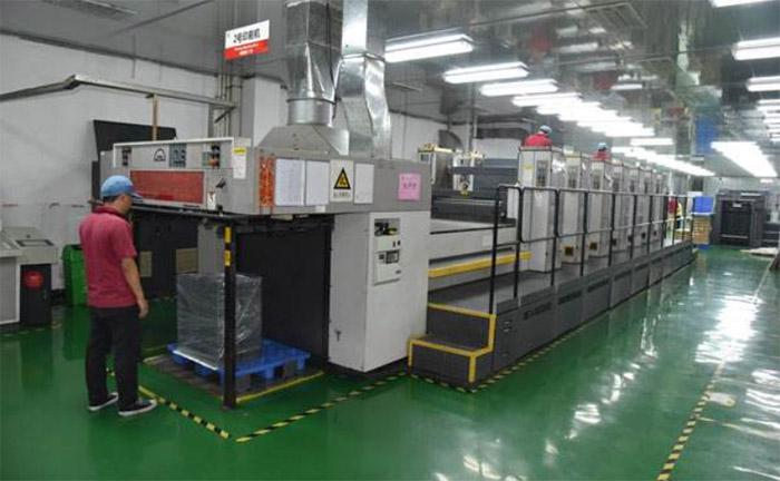 Tin box printing factory