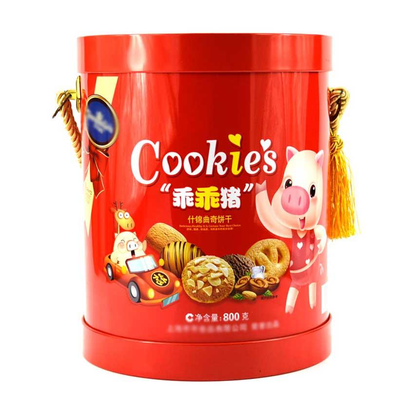 Cookie tin box design