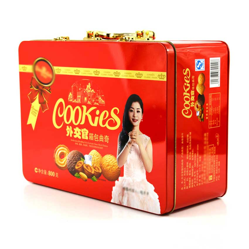 Cookie tin box packaging
