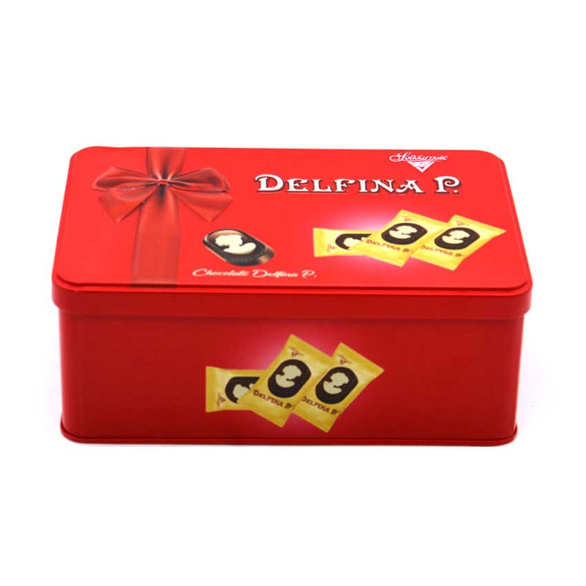 Custom candy tin box