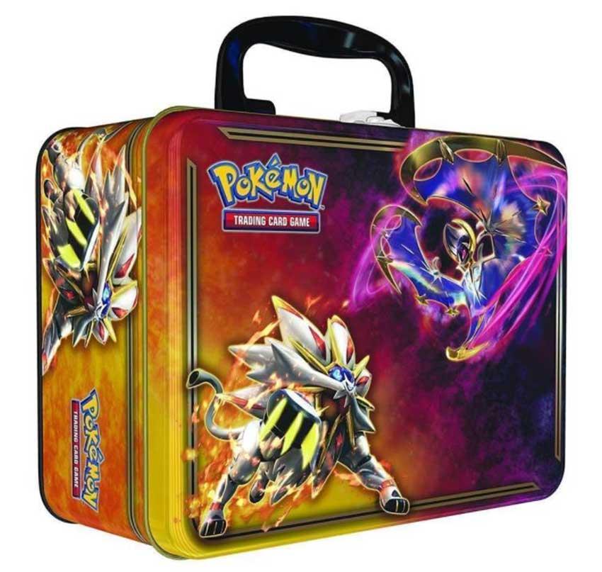Pokemon bento tin box with handle
