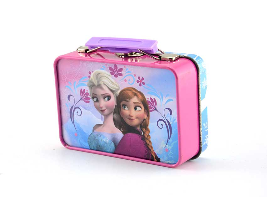 Kid lunch box with handle