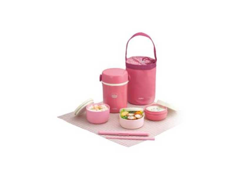 Silicone kids lunch box