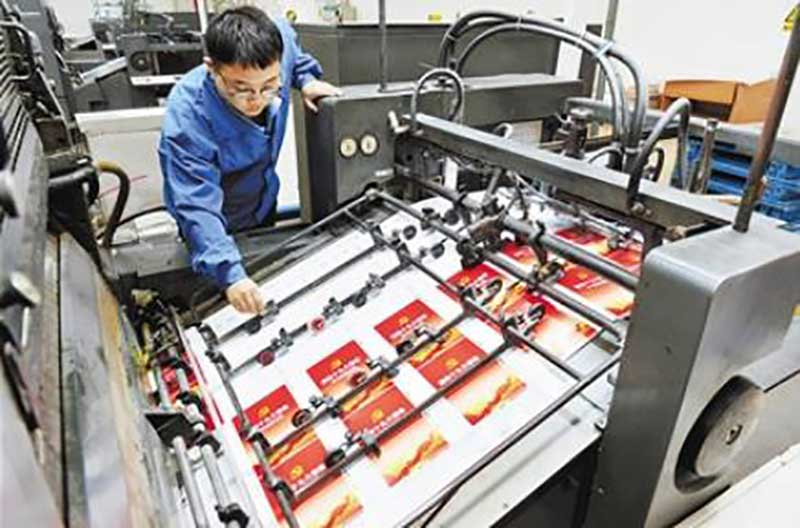 Candy tin box printing process