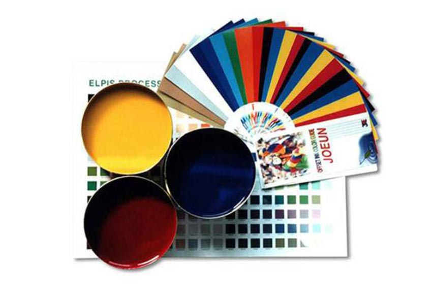 Promotional gift box printing ink