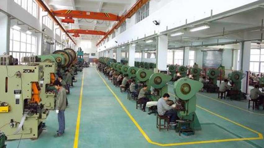 Tin box factory