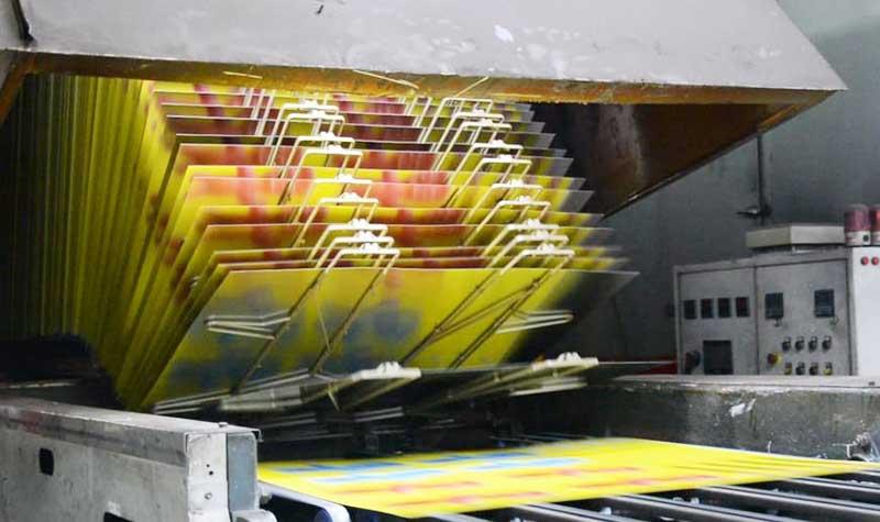Gift metal box printing process
