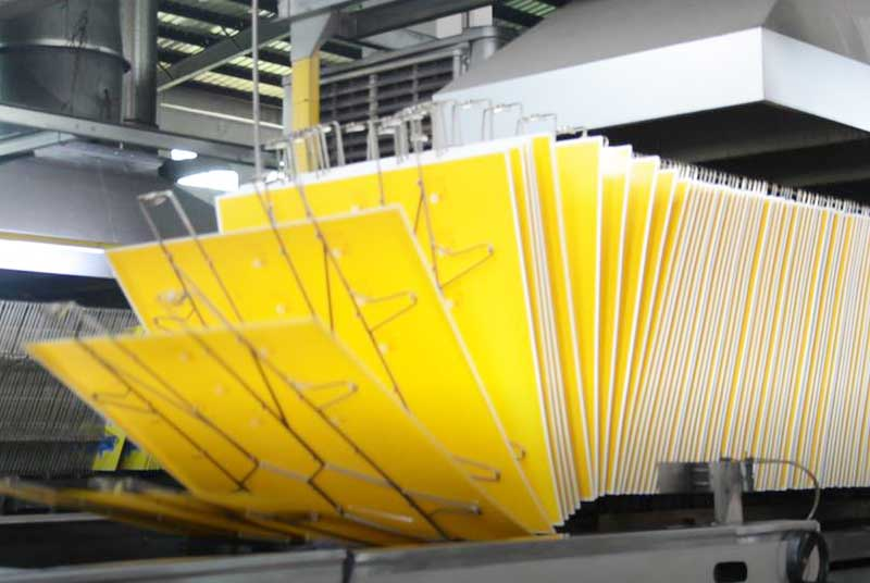 Metal box printing process