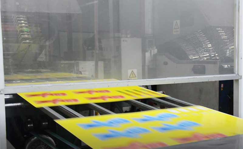 Metal box printing