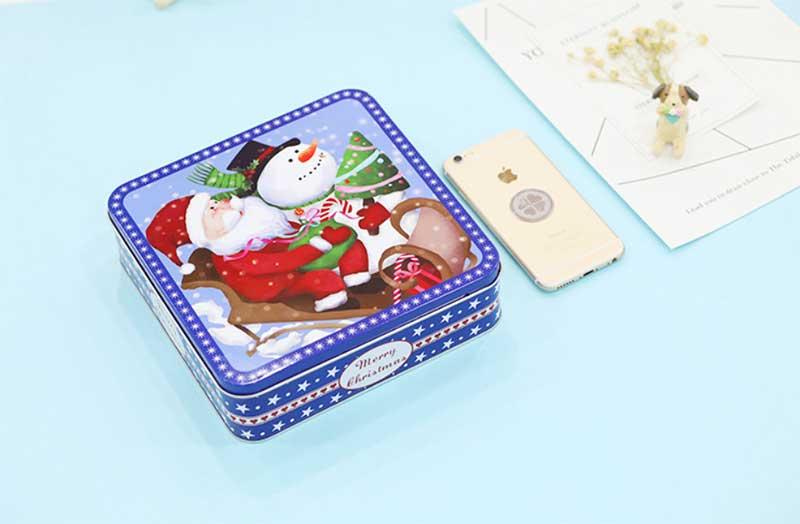 Metal cookie box