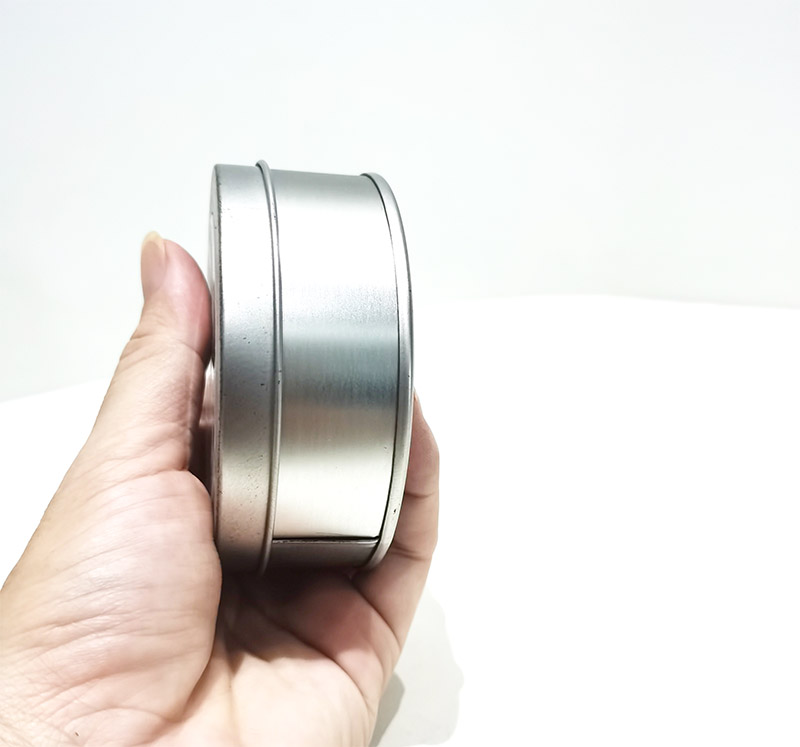 Custom blank small round tin can