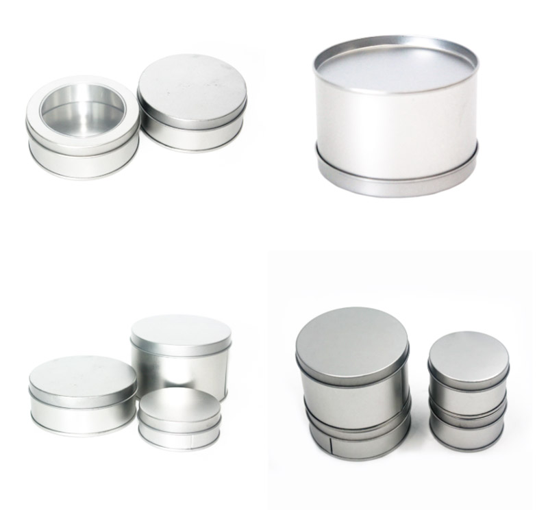 High-quality small round tin can series