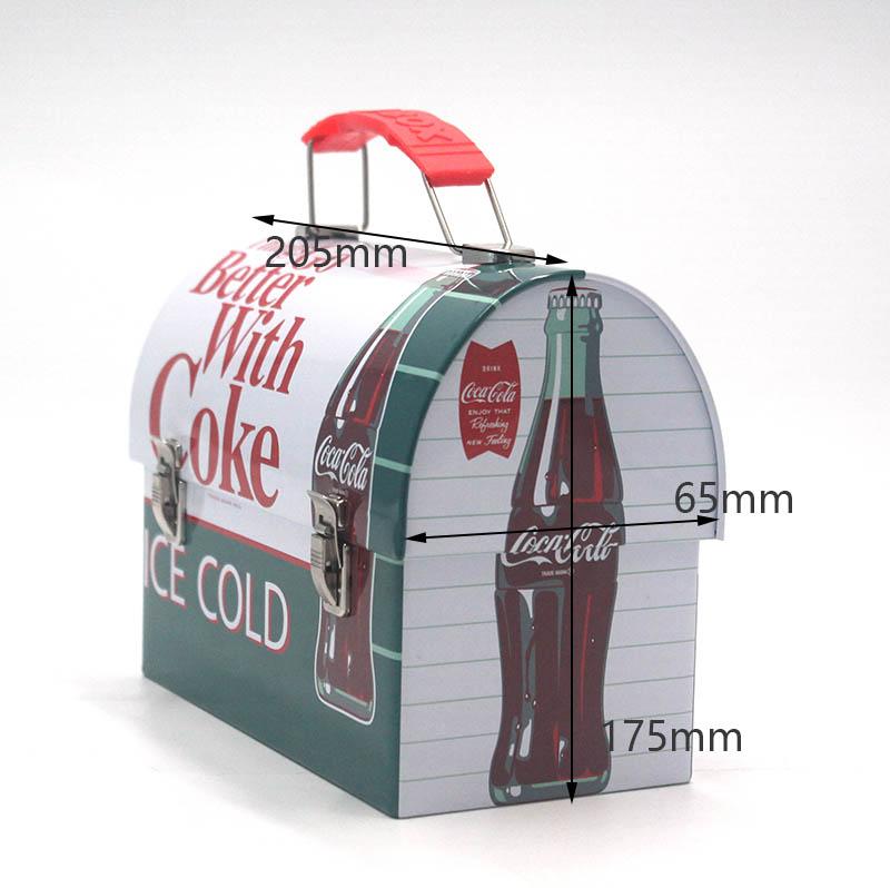 Coca Cola Bento Tin Box Size