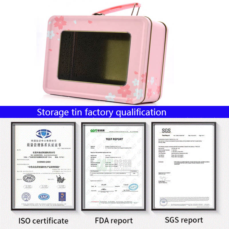 Storage tin factory qualification