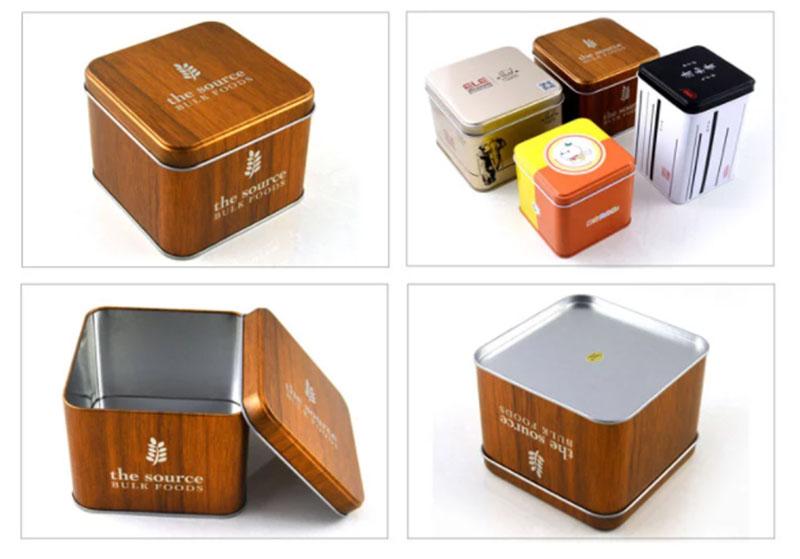 Wholesale square metal box series