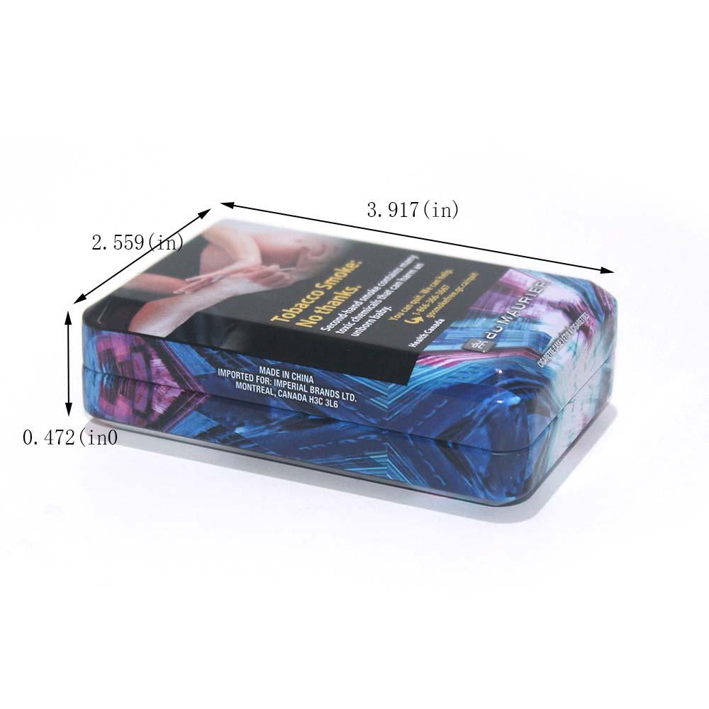 Emballage de boîte de tabac