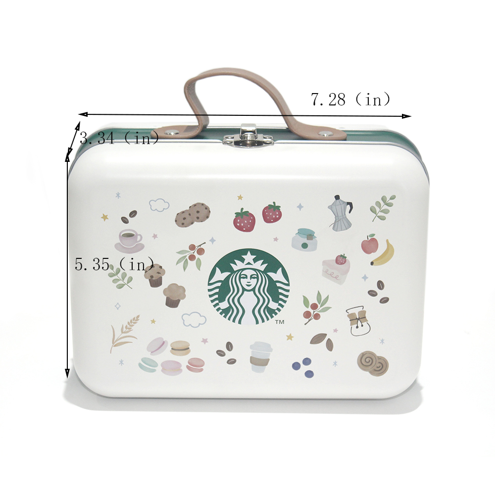 Best metal lunch box size with handle