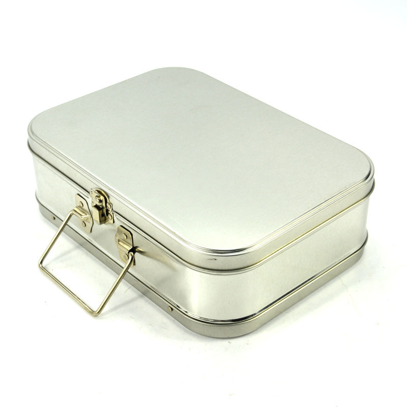 Blank lunch tin box