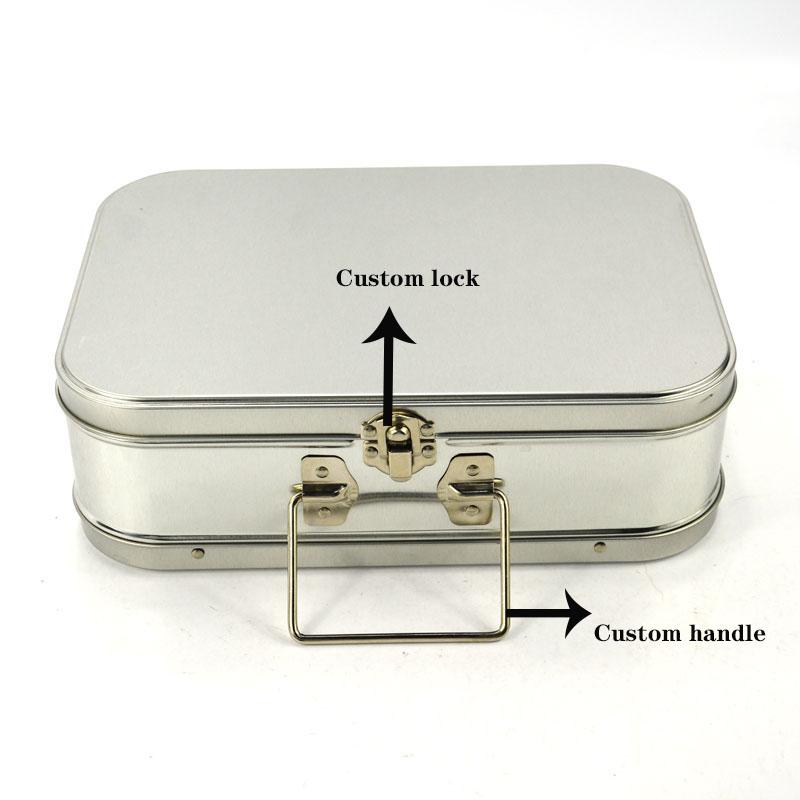 Custom lunch tin box