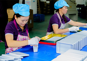 Quality Inspection Department of Tin Can Factory