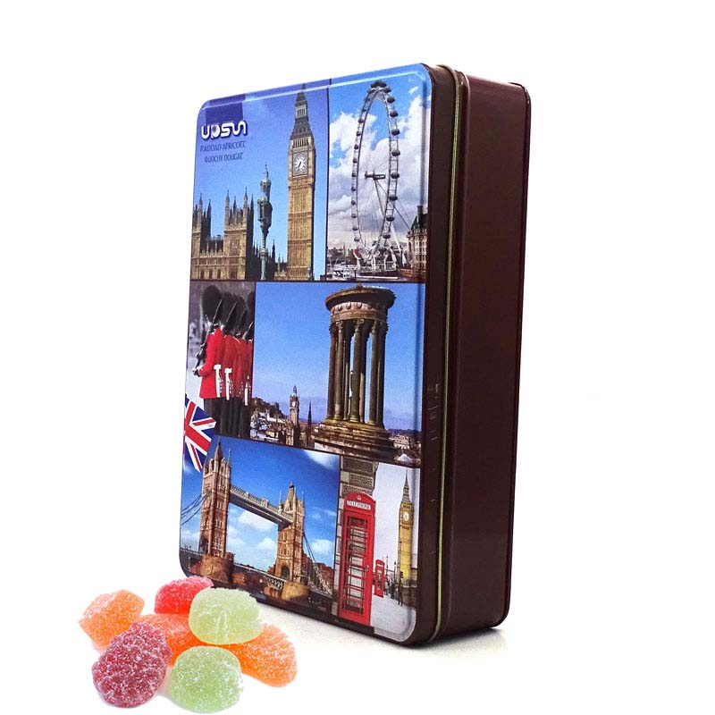 Прямоугольная коробка для конфет